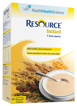 Resource 7-Korn Instantbrei, 1 x 600 g Packung