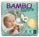 Bambo Nature, Air Plus, midi 5-9 kg, 1 x 33 St.